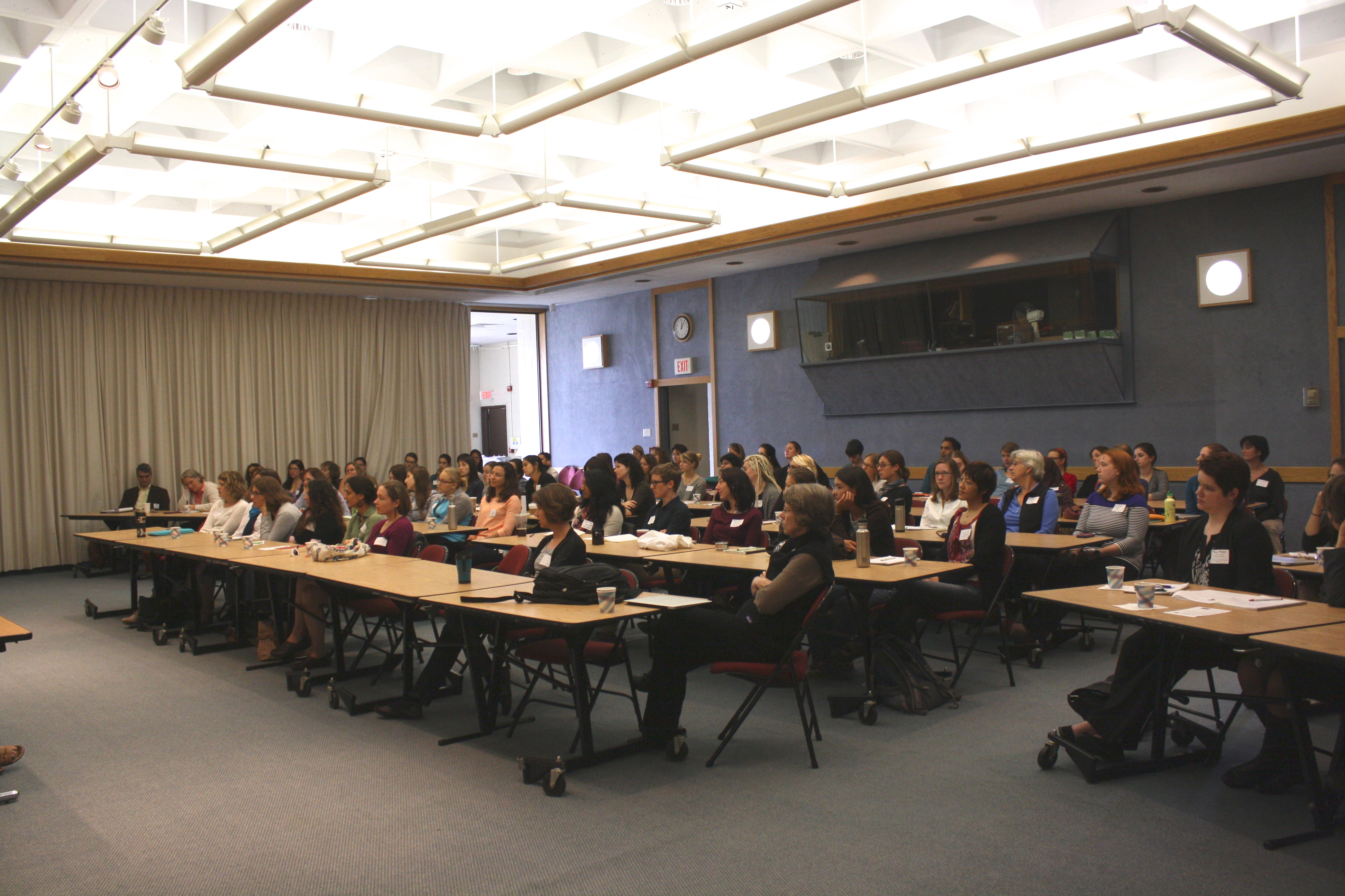 PHOTO: A full house at the 2014 workshop